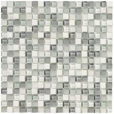 "Crystal Stone II 5/8"" x 5/8"" - Pearl Mosaic By SouthCypress.com"