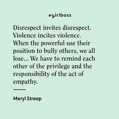 Did you catch Meryl Streep's incredible speech at the #GoldenGlobes last night??  #Girlboss