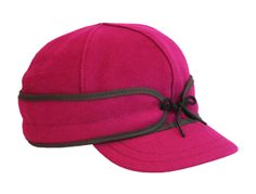 Love this classic hunting hat updated in women's colors. Original Stormy Kromer hat.