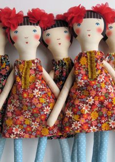 Petranille Cloth Dolls by Sophie Tilley