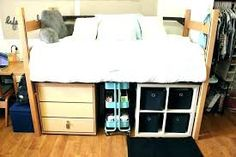 Over the bed storage for dorms over bed storage dorm under bed storage drawers ideas my . over the bed storage for dorms dorm shelves Dorm Room Walls, Cool Dorm Rooms, Dorm Room Storage, Bed Storage, Room Organization, Storage Drawers, Mens Room Decor, Room Wall Decor, College Room Decor