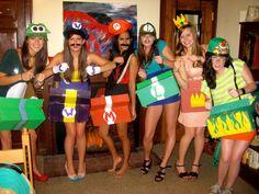 mario kart halloween costumes