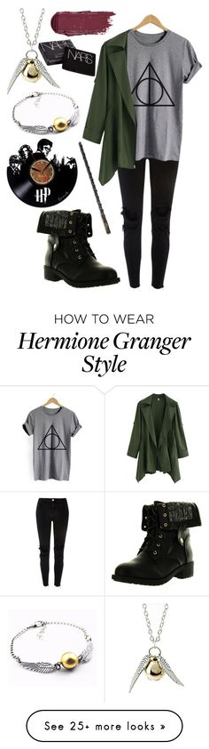 """""""Untitled #376"""" by diamonds610 on Polyvore featuring River Island, Quiksilver, Refresh and NARS Cosmetics"""