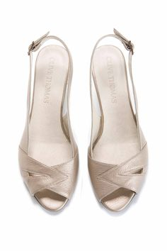 sale retailer 8d650 2f80c Items similar to SALE 50% off Womens Gold Peep Toe Mid-Heel Sandal    US  sizes 5-10.5, Wedding Day, Free Shipping on Etsy