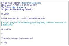 """Apple VP Federighi: """"Das Schließen nicht genutzter Apps schont nicht Euren Akku!"""" - https://apfeleimer.de/2016/03/apple-vp-federighi-das-schliessen-nicht-genutzter-apps-schont-nicht-euren-akku?utm_source=PN&utm_medium=PINIT&utm_campaign=Apple+VP+Federighi%3A+%E2%80%9EDas+Schlie%C3%9Fen+nicht+genutzter+Apps+schont+nicht+Euren+Akku%21%E2%80%9C - Kann das regelmäßige händische Beenden von iOS-Apps das Batterieleben Eurer iDevices erhöhen? Darüber streiten sich nicht er"""