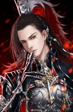 Free to read the best Xuanhuan&Fantasy novels on Flying Lines. Anime Fantasy, Fantasy Art Men, Fantasy Artwork, Fantasy Books, Handsome Anime Guys, Hot Anime Guys, Chinese Drawings, Chinese Art, Fantasy Characters