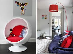 Child's playroom design by Oliver Burns