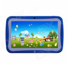 "TEMPO MS709 7"" Android 4.2 RK3026 Dual-Core Children's Tablet PC w/ 512MB, 8GB, Wi-Fi - Blue Price: $72.18"