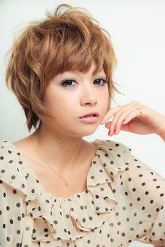 Maki Yoko-style small face short