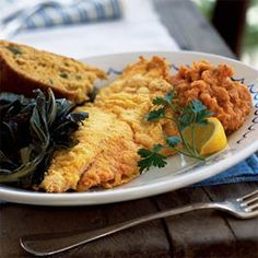 Oven-Fried Catfish | MyRecipes.com #myplate #protein