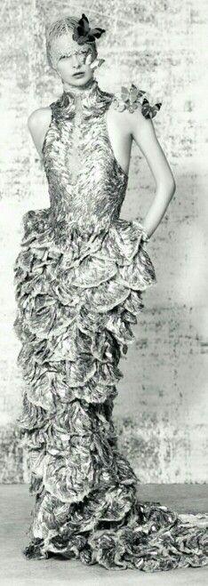 Elza Luijendijk Wears Butterfly Beauty for Ben Toms' Dazed & Confused Shoot | cynthia reccord