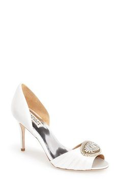 Badgley Mischka 'Melody' d'Orsay Pump (Women) available at #Nordstrom Comes in blue also