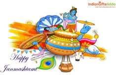 Let's celebrate the birth of Lord Krishna with full fervor and enthusiasm. Happy Janmashtami, Janmashtami Wishes, Krishna Janmashtami, Lord Krishna, Same Day Delivery Gifts, Fictional Characters, Disney Characters, Frame Gallery, Wish Quotes
