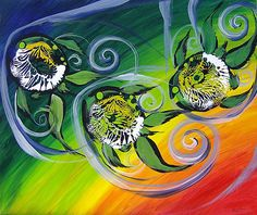 J. Vincent Scarpace, Artist. Original Abstract Fish Art / Painting. For sale (mailto:artist@ipa...). Visit: www.ipaintfish.com View thousands more, here: www.facebook.com/... (Fb friendship requests welcome).