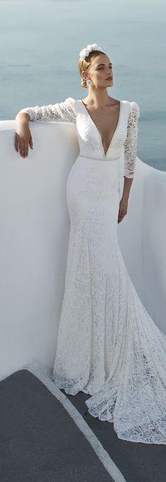Vestido de novia por Julie Vino - Colección 2016 Santorini