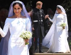 Meghan Markle: First look at her wedding dress.