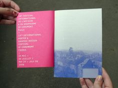 chaumont festival - graphic design - Frédéric Teschner Studio