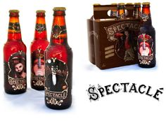 Le Spectacle Brewery by Andrew Haines, via Behance #beer #packaging
