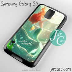 ariel the little mermaid Phone case for samsung galaxy S3/S4/S5