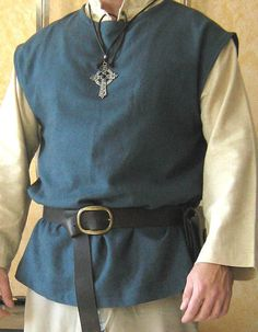 Medieval Celtic Viking Sleeveless Shirt by MorganasCollection, $59.99