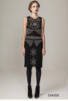 Alguns modelos de crochê para o inverno 2013, coleção Giovana Dias.