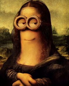 da vinci minion ♣️Fosterginger.Pinterest.Com♠️ More Pins Like This One At FOSTERGINGER @ PINTEREST No Pin LimitsFollow Me on Instagram @  FOSTERGINGER75 and ART_TEXAS