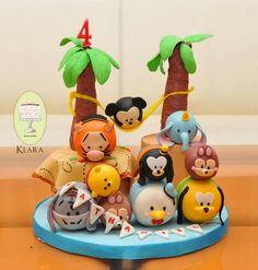 Tsum tsum beach party