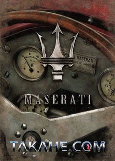 A cockpit from the Maserati 8CM
