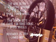 """2014 FLHX 30"""" baggers - 30"""" MAD wheel 7 spoke"""