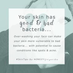 Is your skin looking dull, dehydrated and dry? Is your skin over oily, spotty and acne prone? Over washing your skin could be to blame. Your skin has lots of bacteria on it all the time. There's good skin bacteria and bad skin bacteria. Washing your face interferes with the good:bad balance. Click to read more… #EyelinerTricks