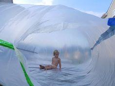 tarp bubble