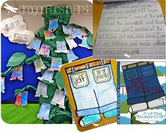 Me and the Beanstalk - EASY, ENGAGING, EFFECTIVE narrative writing lesson and craft!