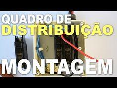 Como montar QDC - Quadro de distribuição de circuitos! - YouTube
