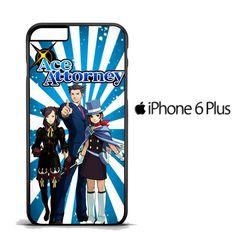 Ace Attorney D0224 iPhone 6 Plus | 6S Plus Case
