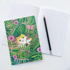 CATS & BUNNES! Notebook illustration by Pauliina Mäkelä for Karto