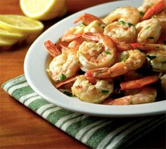 Paleo Roasted Lemon Garlic Shrimp - A Whole New Twist