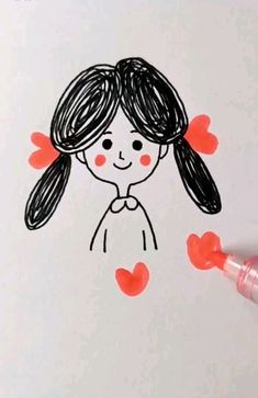 Cute Easy Drawings Ideas for Kids! Cute Easy Drawings Ideas for Kids! The post Cute Easy Drawings Ideas for Kids! appeared first on Frisuren Tips - People Drawing Drawing Lessons, Art Lessons, Drawing For Kids, Art For Kids, Crafts For Kids, Drawing Ideas, Drawing Tips, Doodle Art, Diy Arts And Crafts