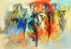 Maria de Vries @ Galerie 043 Impressionist Art, People Art, Portrait, Figure Drawing, Figurative Art, Fractals, Abstract Art, Human Figures, Drawings