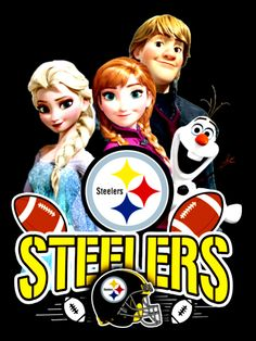 steelergalfan4life 🖤💛 - Frozen Steelers Fans 💙❤