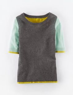 Lightweight Colourblock Sweater WV043 Sweaters at Boden