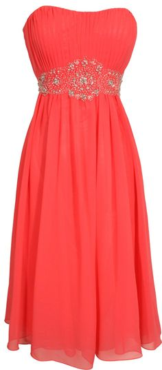 coral dress! possibility....maybe if I do the MoH in another dress?