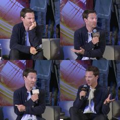 Benedict Cumberbatch at the Hong Kong Press conference October 13, 2016