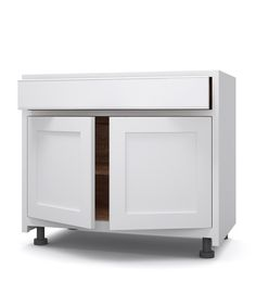 900/1000w x 580d x 870h Single drawer with fully extending soft close blum drawer runners, cupboard with 1 adjustable shelf height of drawer front is 150mm.