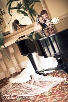 Love these fun reflections on the piano at The Fairmont Southampton.  Photos by Sacha Blackburne.