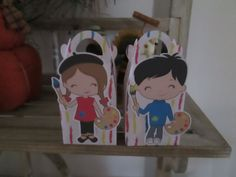 Artist Kids Gable Favor Boxes Set of 12 by zbrown5 on Etsy