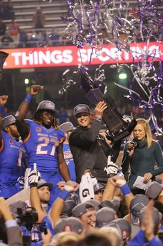 Boise State defeats Fresno State 28-14 Saturday evening at Albertsons Stadium in the Mountain West Championship game.
