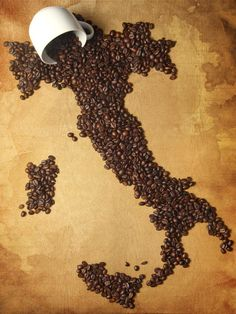 un caffè per favore, someone spilled the beans! Repinned by www.ulissedeluxe.com