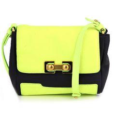 Marc By Marc Jacobs Neon Colour-Block Bag I $336|Trendland Shop