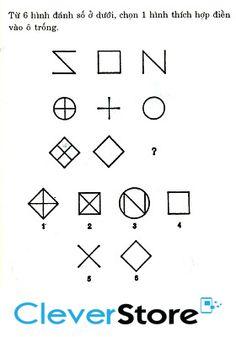 Chọn hình thích hợp điền vào ô trống