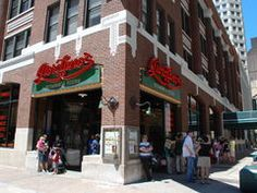 Giordano's Pizzeria on Rush . List of best places to eat in Chicago.